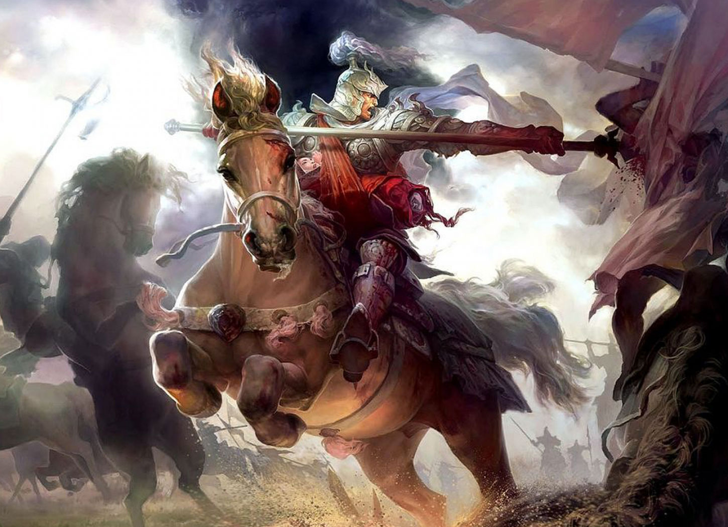 Lords & Knights. Battle system